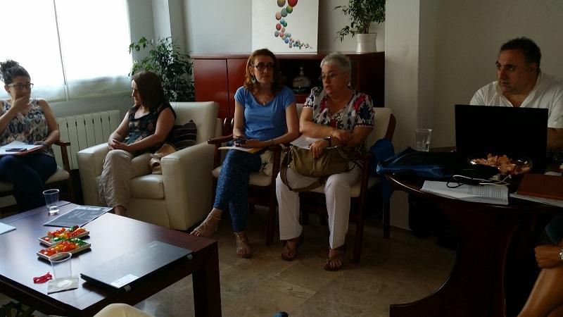 Reunión III Congreso Ibérico de Terapia Familiar