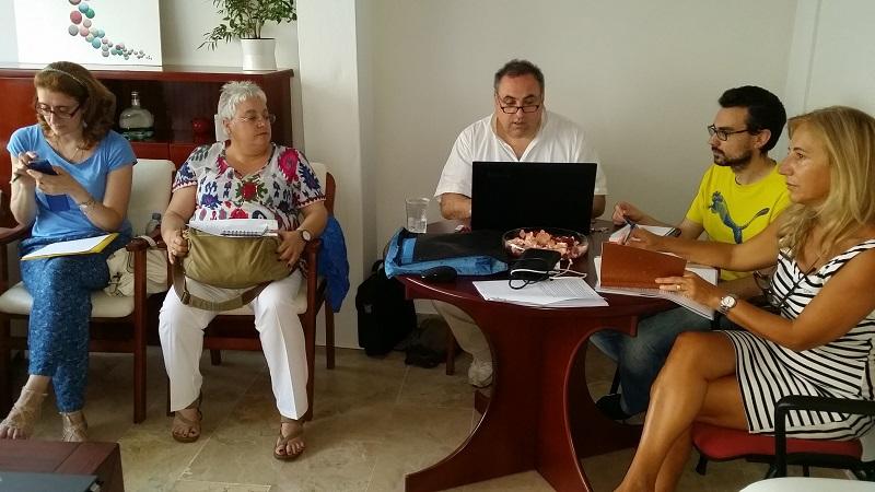 Reunión del Comité Organizador del III Congreso Ibérico de Terapia Familiar