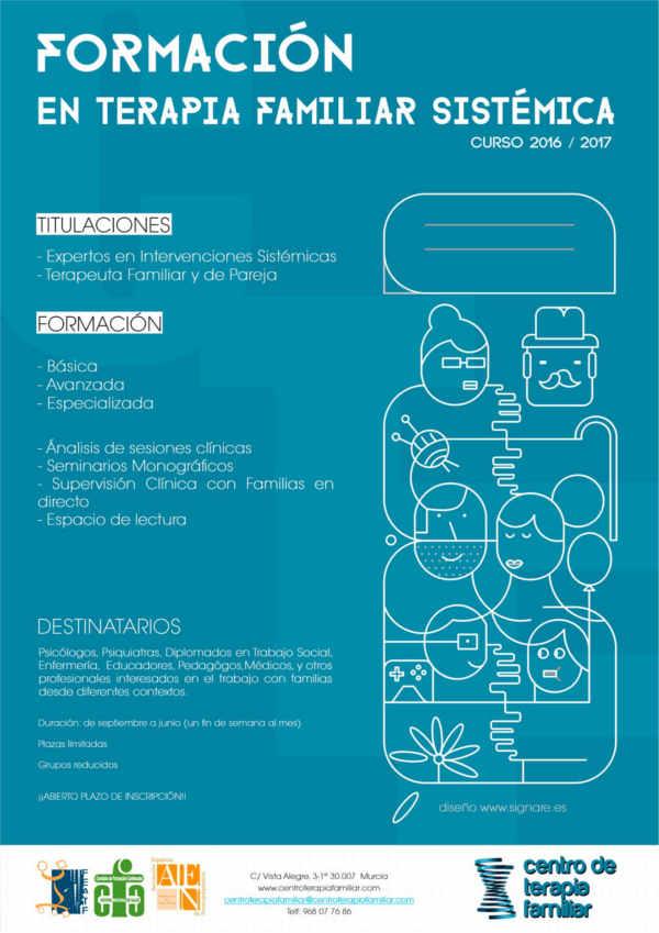 formación en el Centro de Terapia Familiar de Murcia