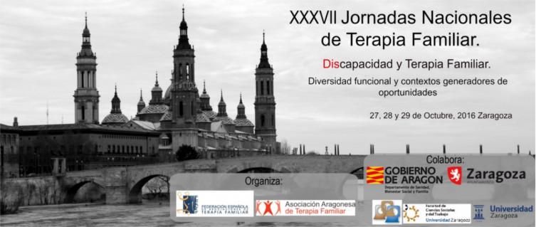 Jornadas Nacionales de Terapia Familiar 2016 Zaragoza