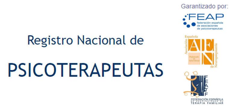 Registro Nacional de Psicoterapeutas