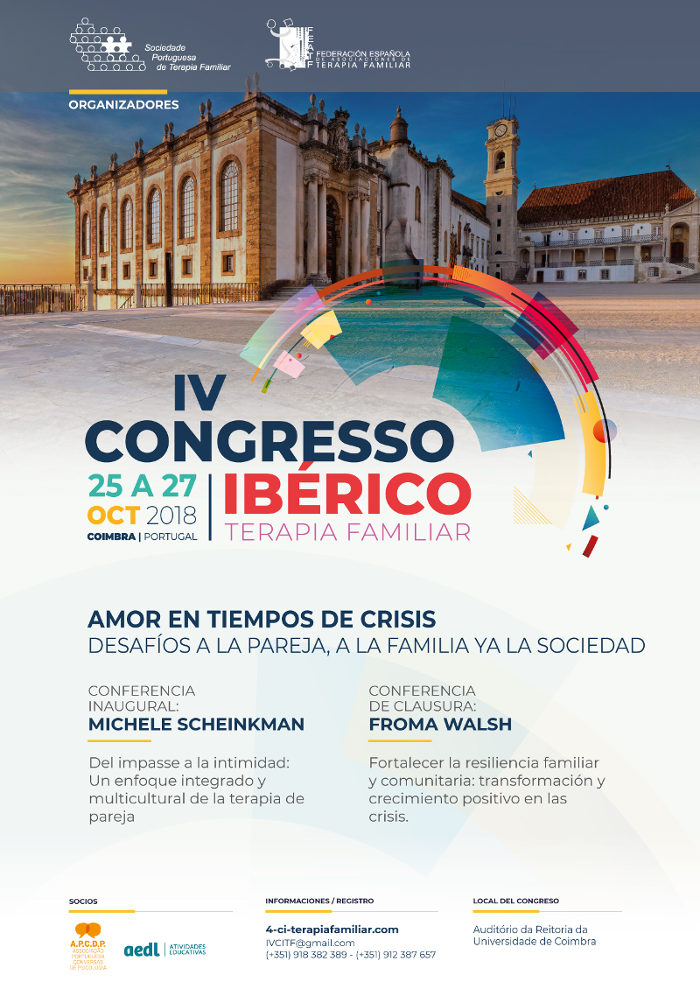 Congreso Ibérico de Terapia Familiar 2018