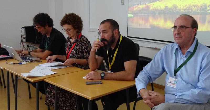 Reuniones celebradas durante el Congreso de Coimbra