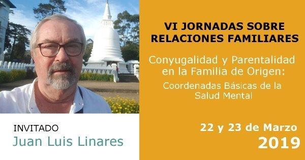 Jornada ATFRM sobre relaciones familiares con Juan Luis Linares