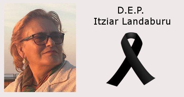 Fallecimiento Itziar Landaburu