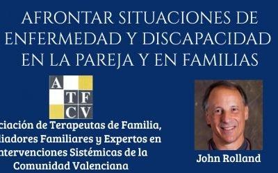 Seminario: Afrontar situaciones de enfermedad y discapacidad en la pareja y en familias