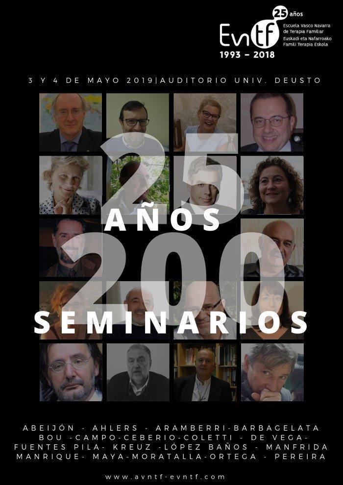 25 AÑOS, 200 SEMINARIOS - EVNTF