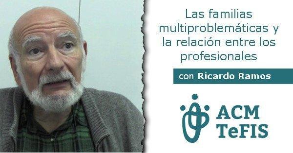 ACMTeFIS Seminario-Taller: Las familias multiproblemáticas y la relación entre los profesionales