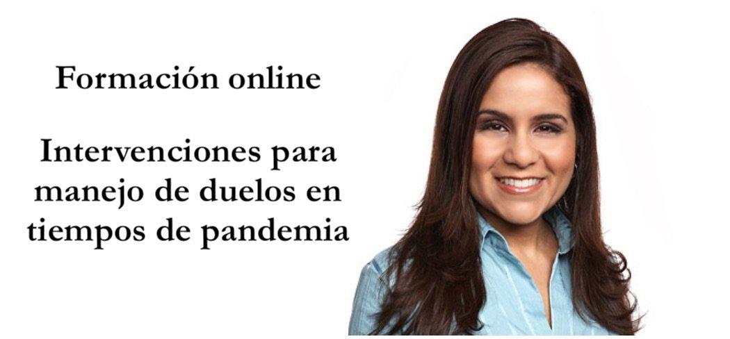 Formación online: Intervenciones para manejos de duelo en tiempos de pandemia