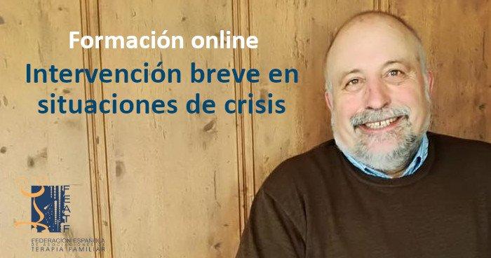 Formación online: Intervención breve en situaciones de crisis